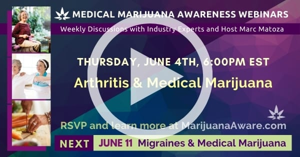 Arthritis & Medical Marijuana, June 24th 2020